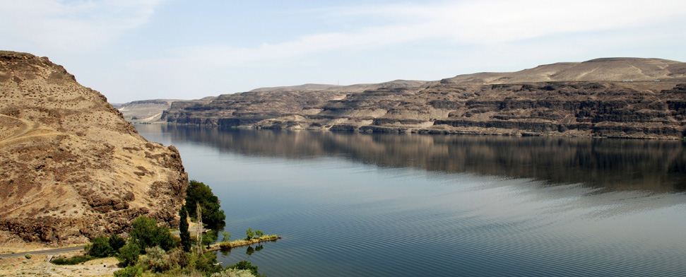 Columbia River valley, eastern Washington<br/>-- Matt Knannlein