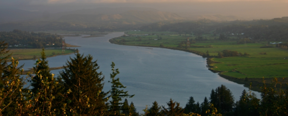 Dusk view from the Astoria Column<br/>-- Dal Marsters